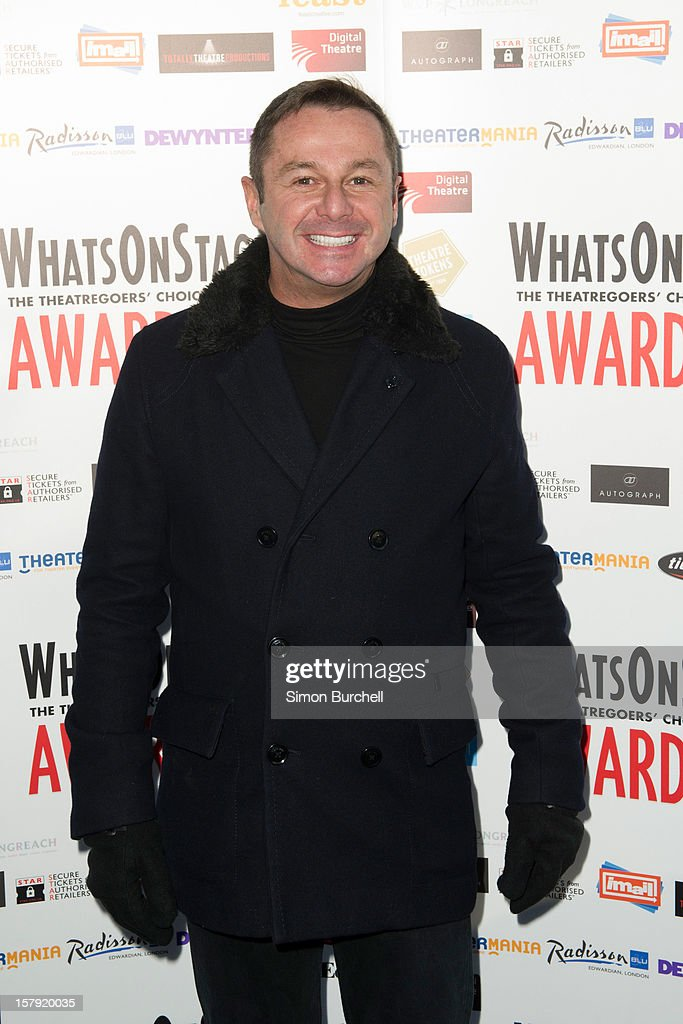 Stephen Mear attends the Whatsonstage.com Theare Awards nominations launch at Cafe de Paris on December 7, 2012 in London, England.