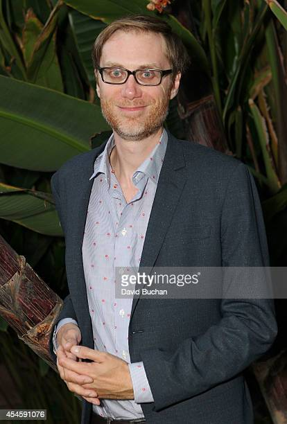 Stephen Merchant attends BAFTA LA's Behind Closed Doors with Stephen Merchant at the Chaplin Theater at Raleigh Studios on September 3 2014 in...