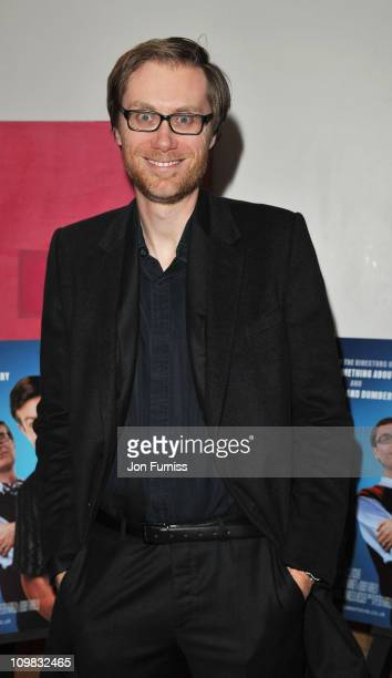 Stephen Merchant attends special screening of 'Hall Pass' at Soho Hotel on March 7 2011 in London England