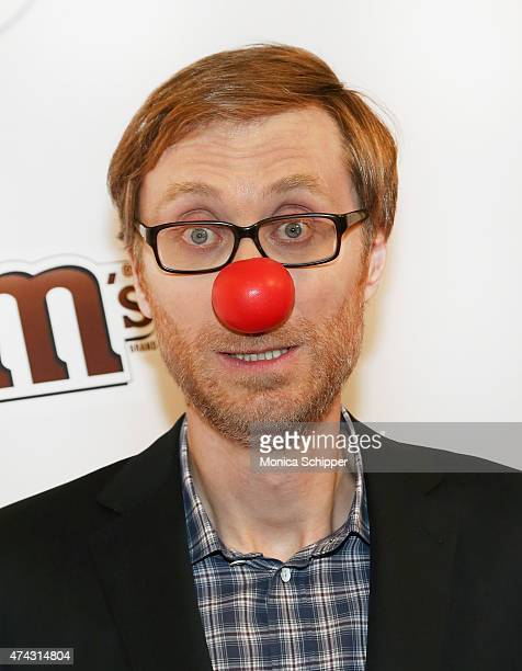 Stephen Merchant attends the Red Nose Day Charity Event at Hammerstein Ballroom on May 21 2015 in New York City