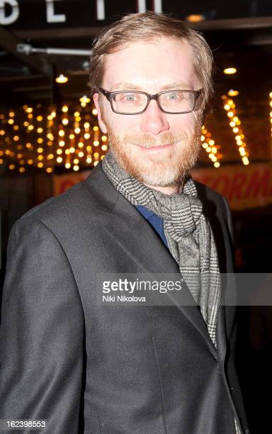 Stephen Merchant sighting on February 22 2013 in London England