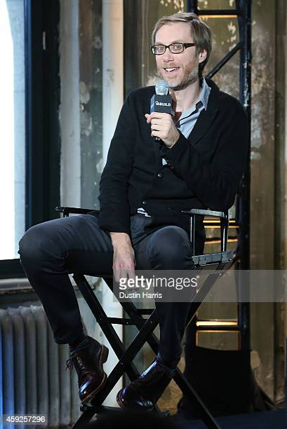 Stephen Merchant speaks at AOL's BUILD Speaker Series Presents In Conversation With Stephen Merchant at AOL Studios in New York on November 19 2014...
