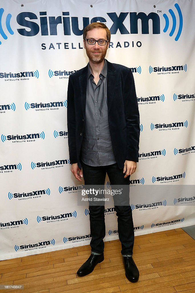 Stephen Merchant visits the SiriusXM Studios on September 24, 2013 in New York City.