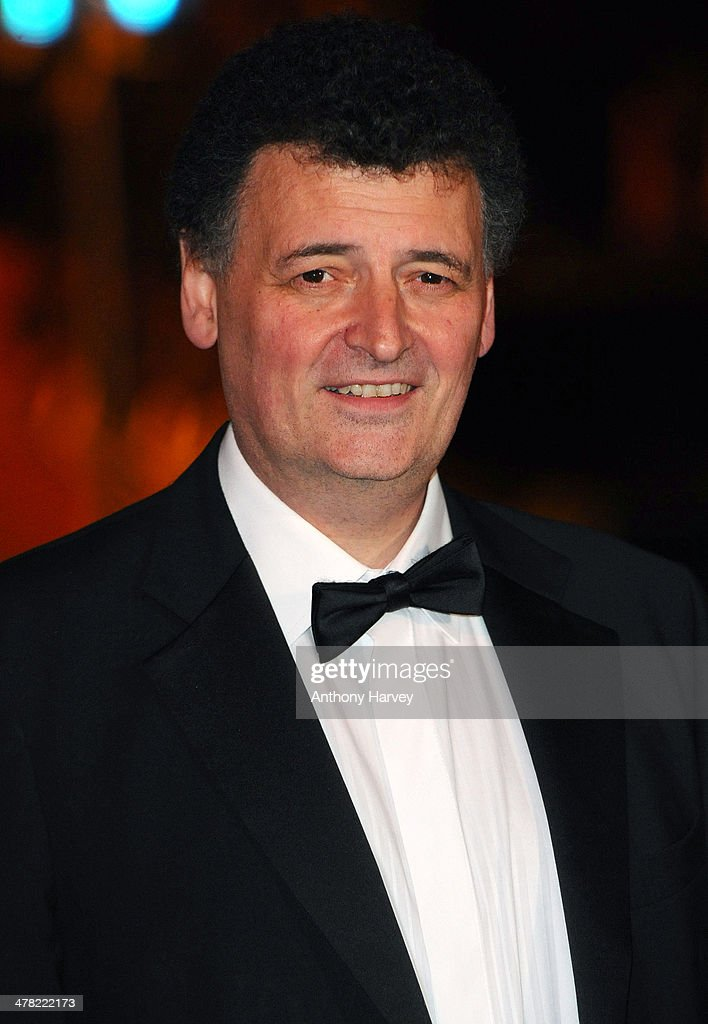 Stephen Moffat attends the 2014 British Academy Games Awards at Tobacco Dock on March 12, 2014 in London, England.