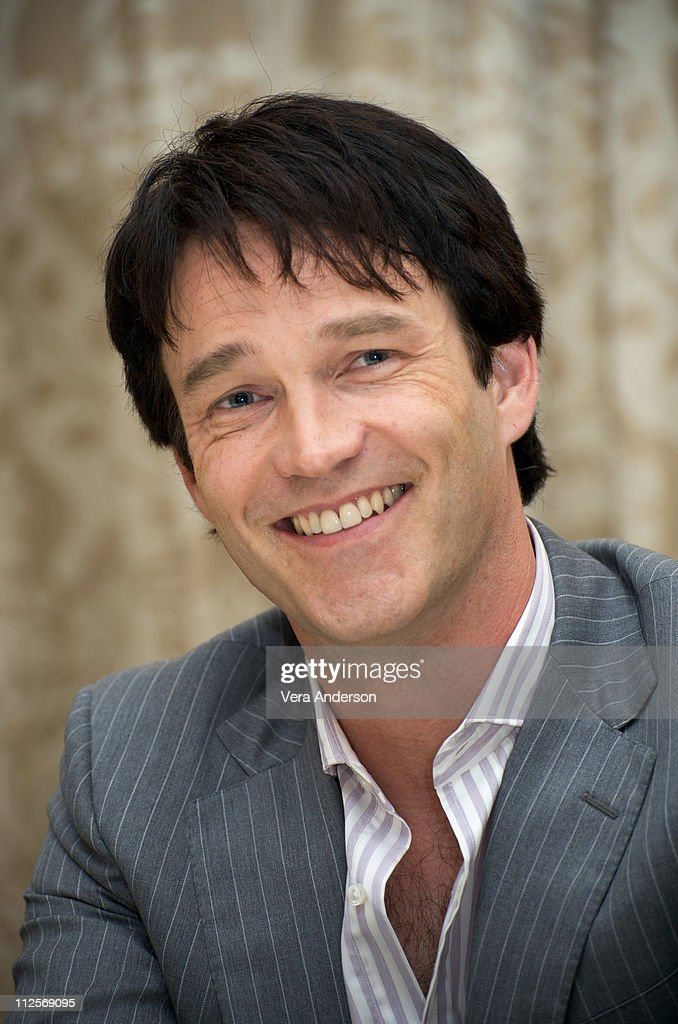 Stephen Moyer at the 'True Blood' press conference at the Four Seasons Hotel on July 22, 2009 in Beverly Hills, California.