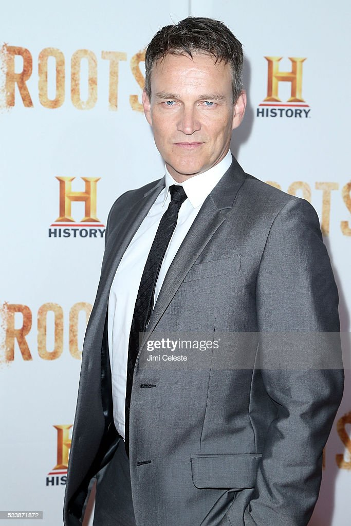 Stephen Moyer attends HISTORY presents night one of epic event series ROOTS as HISTORY presents night one of the epic event series 'Roots' at Alice...