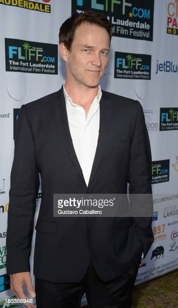 Stephen Moyer attends The 28th Annual Fort Lauderdale International Film Festival Opening Night at Cinema Paradiso on October 18 2013 in Fort...