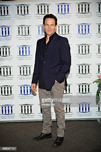Stephen Moyer attends the 'Devil's Knot' premiere at the CALS Ron Robinson Theater on May 03 2014 in Little Rock Arkansas