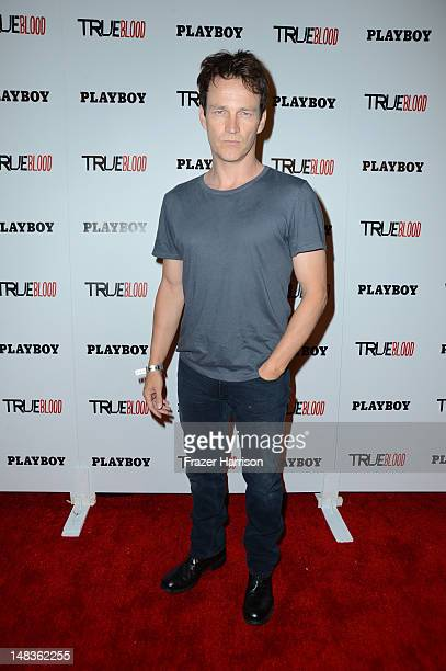 Stephen Moyer attends the Playboy and True Blood 2012 Event on July 14 2012 in San Diego California
