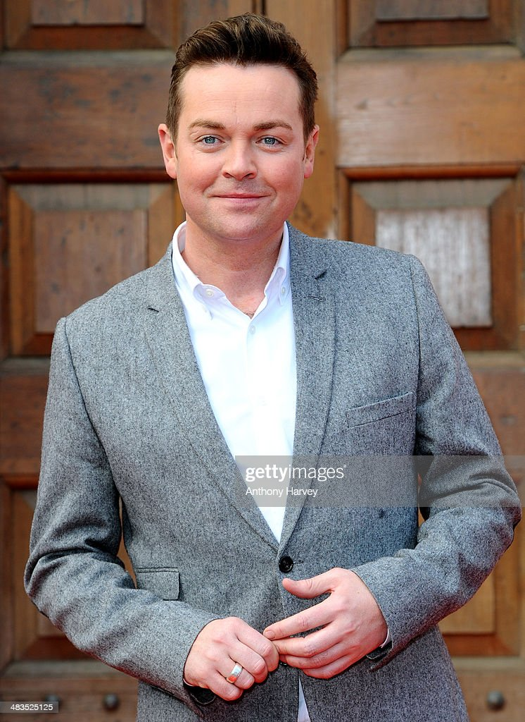 Stephen Mulhern attends a photocall for 'Britain's Got Talent' at St Luke's Church on April 9, 2014 in London, England.