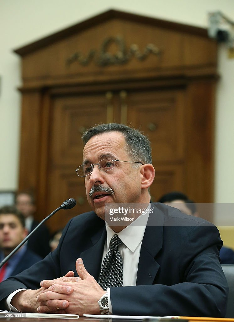Stephen Mull, State Department Lead Coordinator for Iran Nuclear Implementation, testifies during a House Foreign Affairs Committee hearing on Capitol Hill, February 11, 2016 in Washington, DC. The committee heard testimony on the Iran Nuclear deal oversight and consequences.