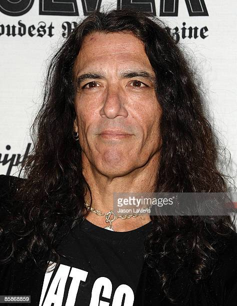 Stephen Pearcy of Ratt attends the 1st annual Epiphone Golden Gods Awards at Club Nokia on April 7 2009 in Los Angeles California