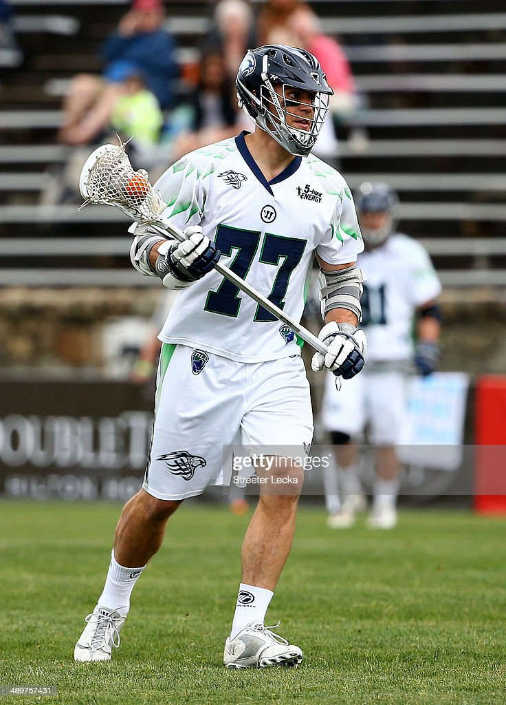 Stephen Peyser of the Chesapeake Bayhawks during their game at American Legion Memorial Stadium on May 10 2014 in Charlotte North Carolina
