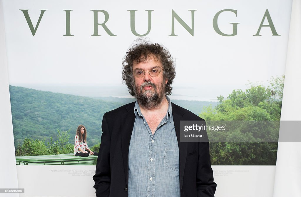 Stephen Poliakoff attends a screening of 'Virunga', a short film about Africa's oldest national park and its wildlife at BFI IMAX on October 14, 2013 in London, England.