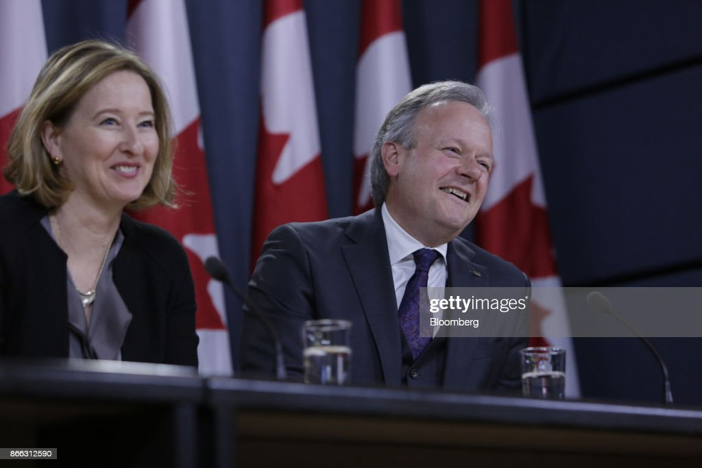 Bank Of Canada Governor Stephen Poloz Announces Overnight Rate