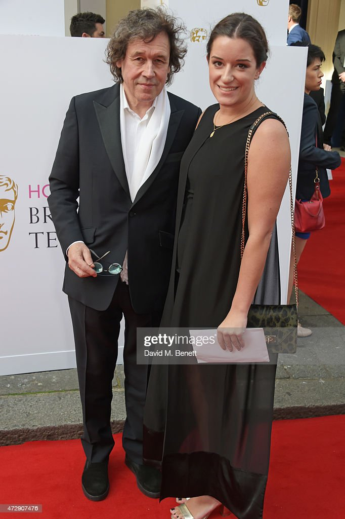 Stephen Rea and guest attend the House of Fraser British Academy Television Awards at Theatre Royal Drury Lane on May 10 2015 in London England