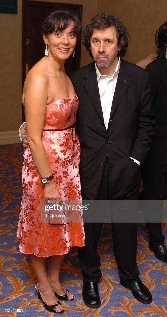 Stephen Rea and guest during St Patrick's Day 2004 Private Dinner at London Hilton Hotel in London England Great Britain