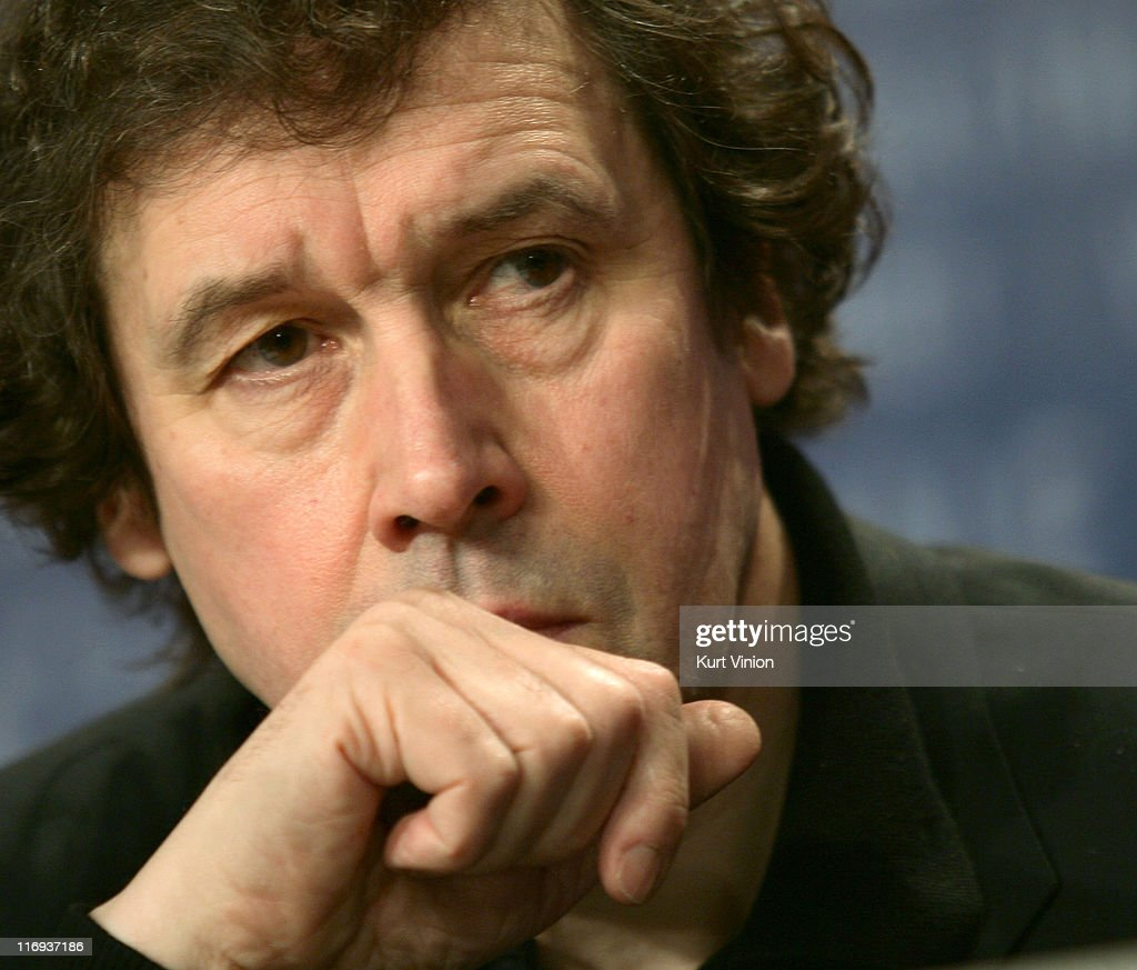 <a gi-track='captionPersonalityLinkClicked' href=/galleries/search?phrase=Stephen+Rea&family=editorial&specificpeople=779931 ng-click='$event.stopPropagation()'>Stephen Rea</a> during 56th Berlinale International Film Festival - 'V for Vendetta' - Press Conference at Berlinale in Berlin, Germany.