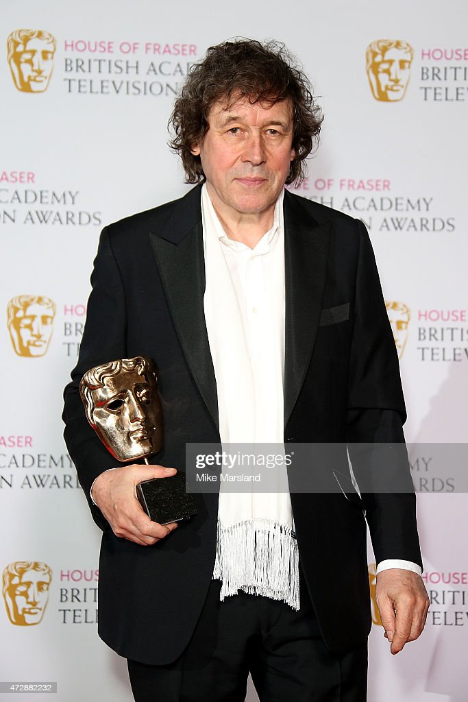 Stephen Rea poses in the winners room with the Best Supporting Actor award at the House of Fraser British Academy Television Awards at Theatre Royal...