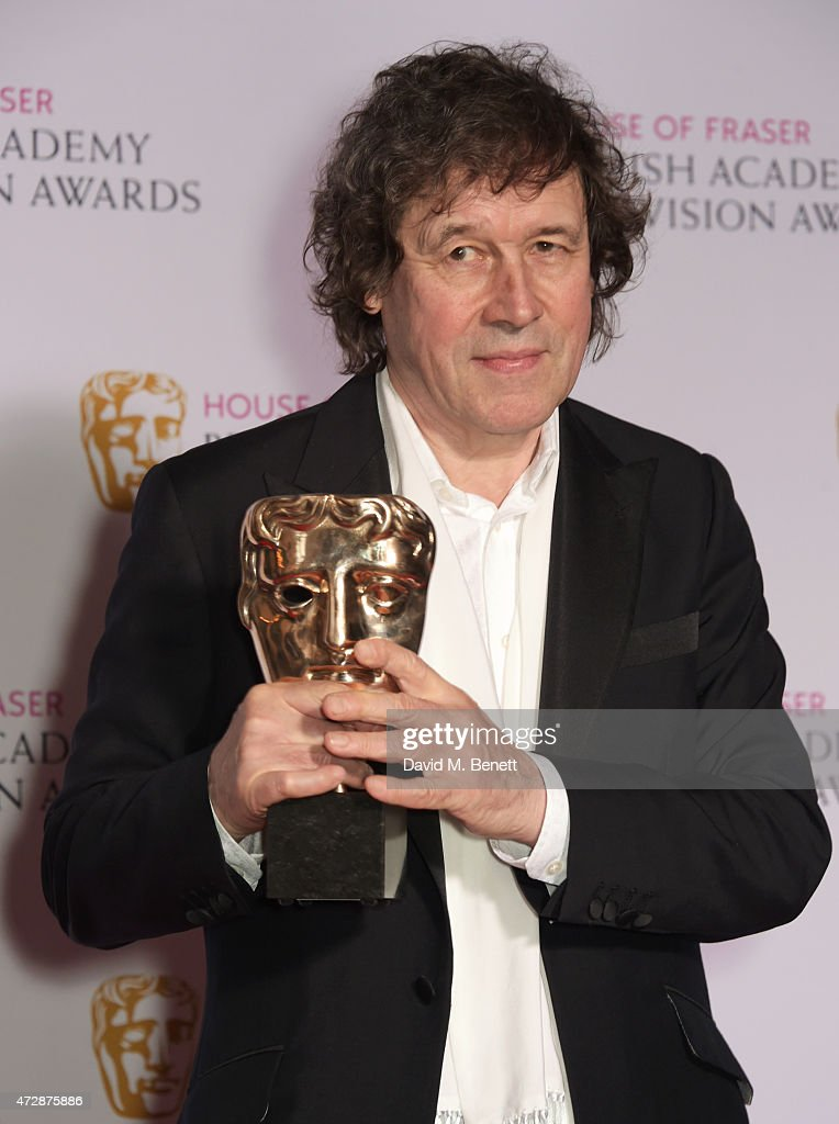 Stephen Rea, winner of the Best Supporting Actor award for 'The Honourable Woman', poses in the winners room at the House of Fraser British Academy Television Awards at Theatre Royal, Drury Lane, on May 10, 2015 in London, England.