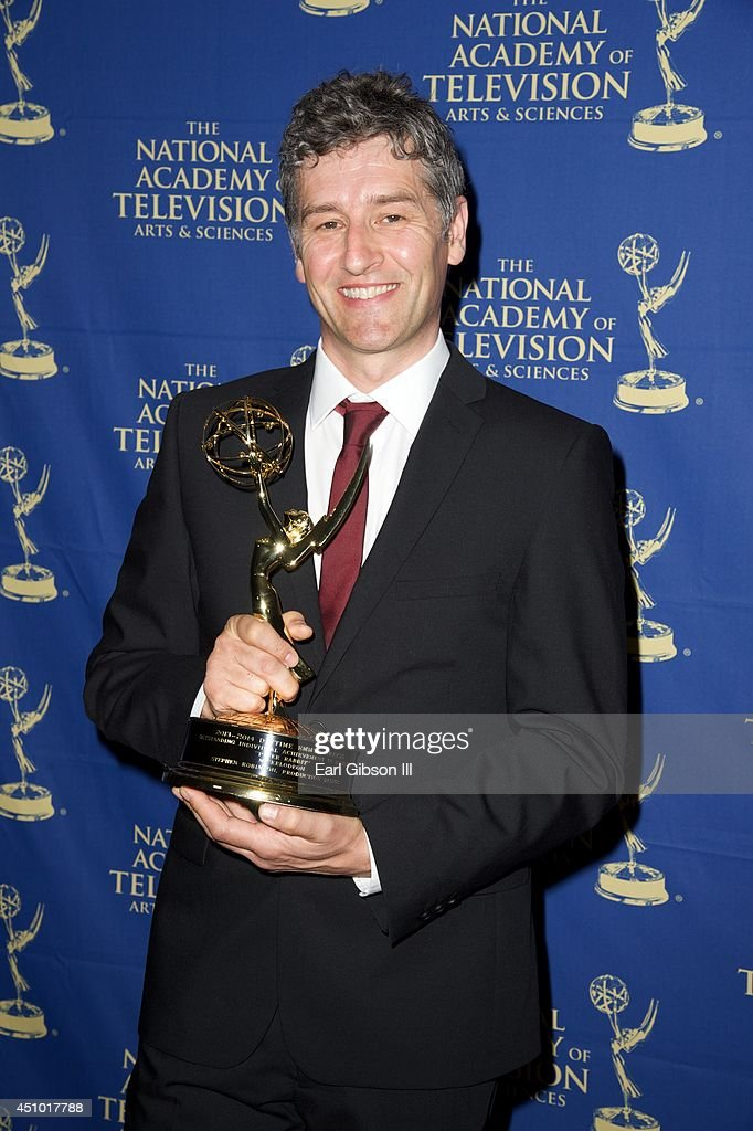 <a gi-track='captionPersonalityLinkClicked' href=/galleries/search?phrase=Stephen+Robinson&family=editorial&specificpeople=221473 ng-click='$event.stopPropagation()'>Stephen Robinson</a> attends the Daytime Creative Arts Emmy Awards Gala at the Westin Bonaventure Hotel on June 20, 2014 in Los Angeles, California.