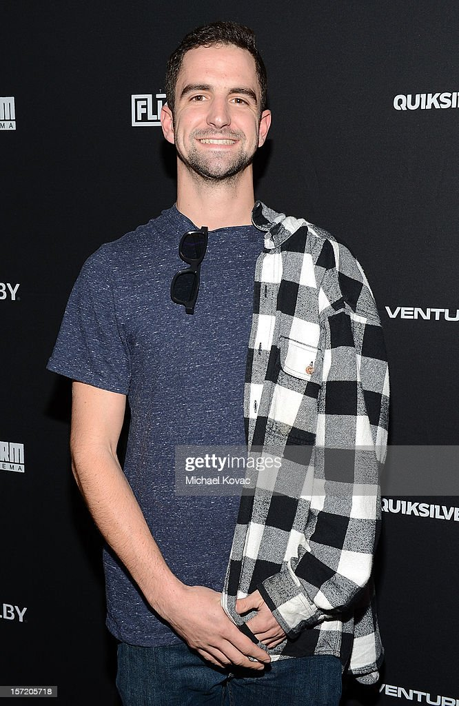 Stephen Scherba attends the Los Angeles Screening of The Art of Flight 3D at AMC Criterion 6 on November 29, 2012 in Santa Monica, California.
