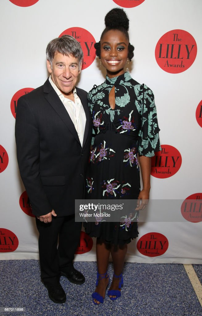 Stephen Schwartz and Denee Benton attend the 2017 Lilly Awards at Playwrights Horizons on May 22, 2017 in New York City.
