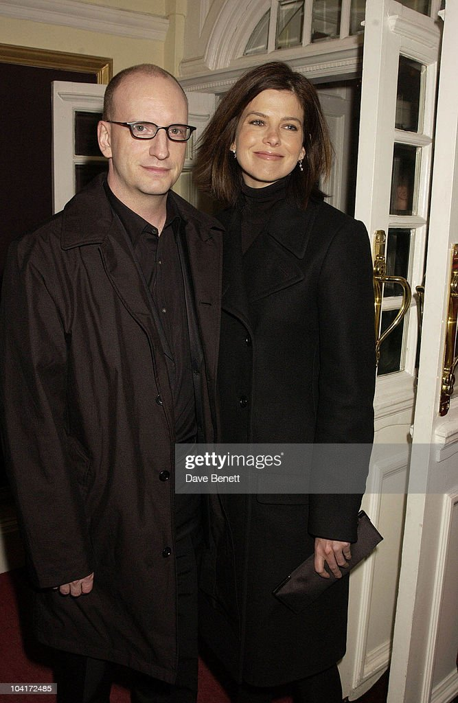Stephen Soderbergh And Girl Friend, Charity Screening And Party For The Movie Ôsolaris' Hosted By Harpers And Queen In Aid Of Ôfacing The World' A Charity Which Helps Children From Poor Countries To Recieve Plastic Surgery (natasha Mcelhone's Husband Is One Of The Charity's Leading Surgeons) At The Electric Cinema, Notting Hill, London