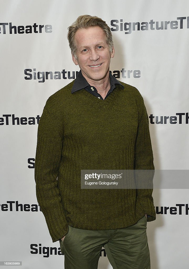 Stephen Spinella attends 'The Mound Builders' Opening Night Party at Signature Theatre Company's The Pershing Square Signature Center on March 17, 2013 in New York City.