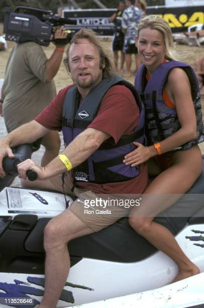 Stephen Stills and guest during Celebrity Sports Invitational SeaDoo Finals May 24 1997 at Westin Rio Beach Resort Puerto Rico