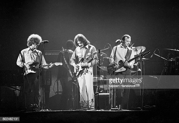 Stephen Stills and Manassas perform live on stage at Concertgebouw in Amsterdam Netherlands in 1971 LR Chris Hillman Al Perkins Stephen Stills