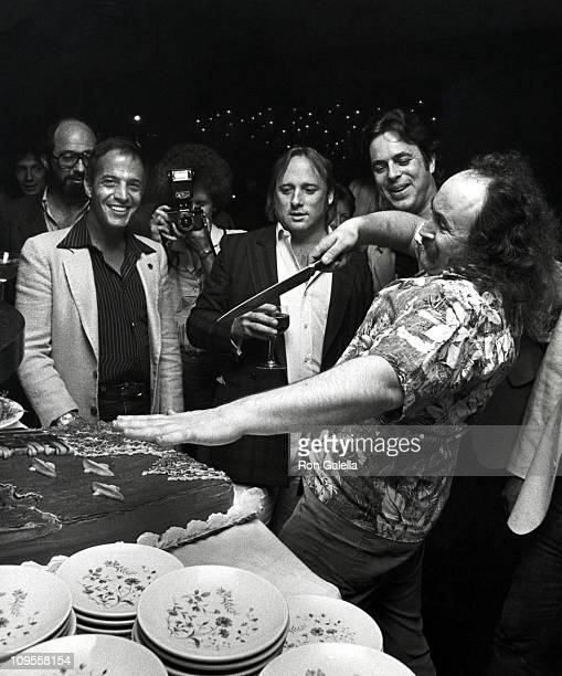 Stephen Stills David Crosby and guests during Posty Concert Party For Crosby Stills and Nash at Berkshire Hotel in New York City New York United...