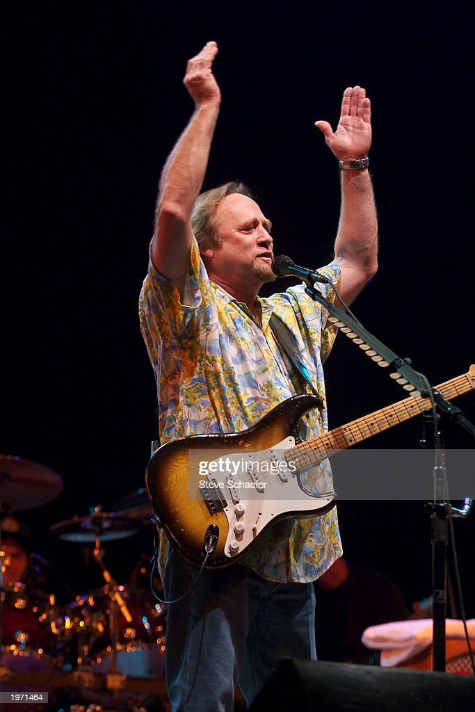 Stephen Stills, of Crosby, Stills and Nash, performs May 3, 2003 during the Music Midtown concert in Atlanta, Georgia. The Music Midtown event features over 120 international, national and local musical acts performing on 11 stages over a 3-day period at a 40 acre complex.