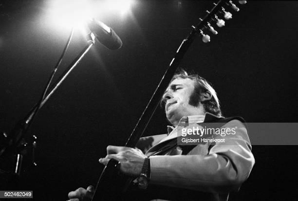 Stephen Stills performs on stage with Manassas in 1972 in Amsterdam Concertgebouw Netherlands