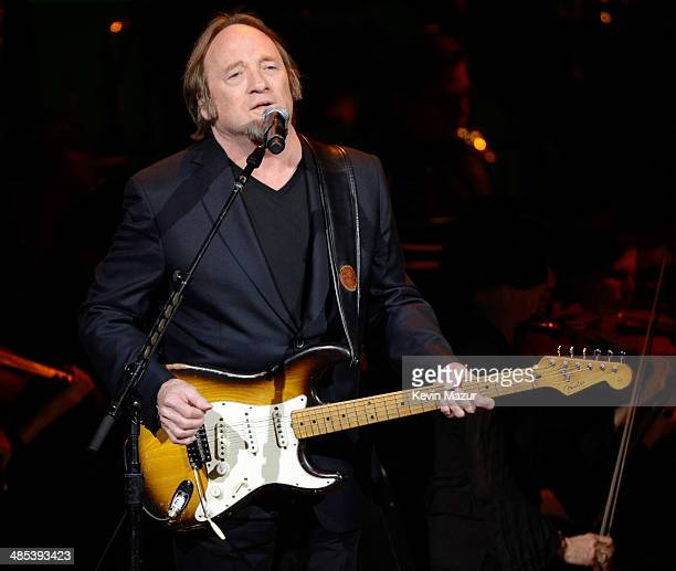 Stephen Stills performs onstage during The 2014 Revlon Concert For The Rainforest Fund at Carnegie Hall on April 17 2014 in New York City