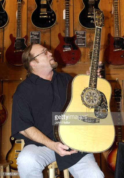 Stephen Stills plays the worlds most expensive guitar manufactured by CF Martin Co The Guitar with the serial is inlayed with white gold diamonds...