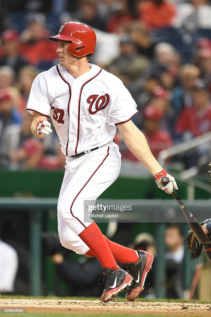 strasburg singles Stephen strasburg was done after two innings with an as-yet  singles by wilmer difo and adrian sanchez and a walk by trea turner loaded the bases with .