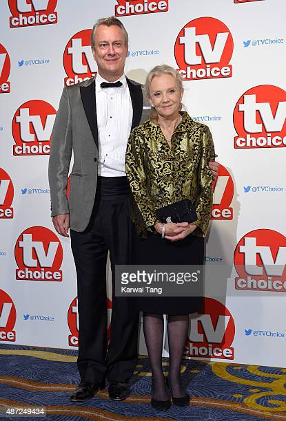 Stephen Tompkinson and Hayley Mills attend the TV Choice Awards 2015 at Hilton Park Lane on September 7 2015 in London England