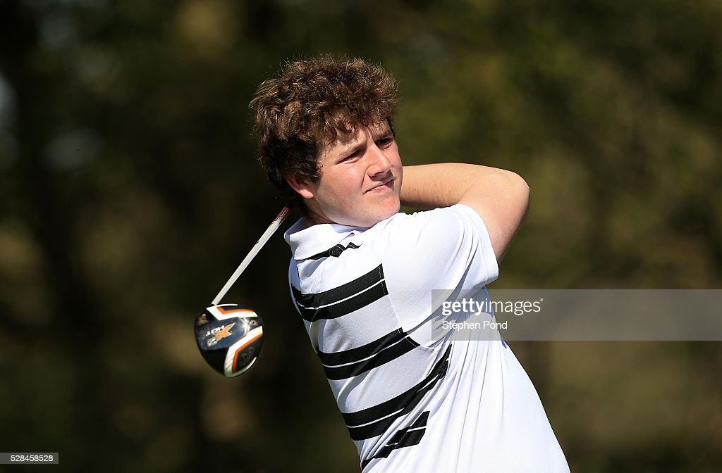 Stephen Topping of Verulam Golf Club during the PGA Assistants Championship East Qualifier at Ipswich Golf Club on May 5, 2016 in Ipswich, England.