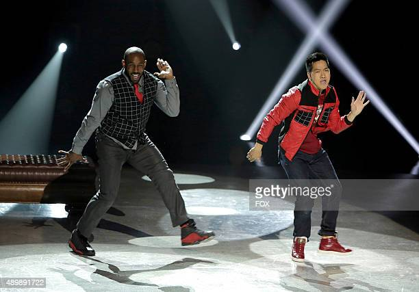 Stephen tWitch Boss and Alex Wong perform a HipHop routine choreographed by NappyTabs on SO YOU THINK YOU CAN DANCE airing Tuesday July 21 on FOX