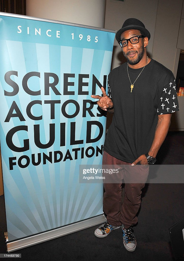 Stephen ÒtWitchÓ Boss attends the Screen Actors Guild Foundation, SAG-AFTRA and Career Transitions for Dancers presents 'Dancers Forum' with Nigel Lythgoe, Cat Deeley, Adam Shankman, Kym Johnson, tWitch and more at SAG Foundation Actors Center on July 25, 2013 in Los Angeles, California.