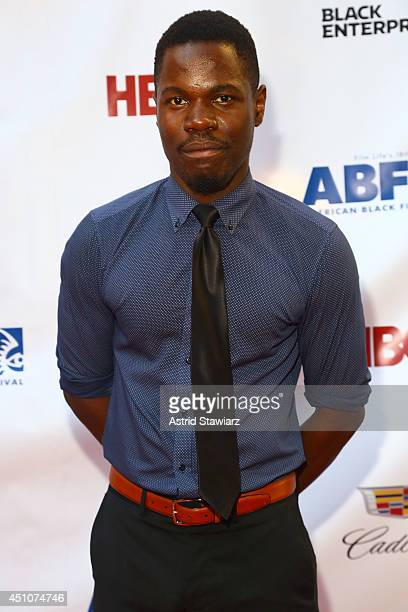 Stephen Tyrone Williams attends 'Da Sweet Blood Of Jesus' world premiere during the 2014 American Black Film Festival at Metropolitan Pavilion on...