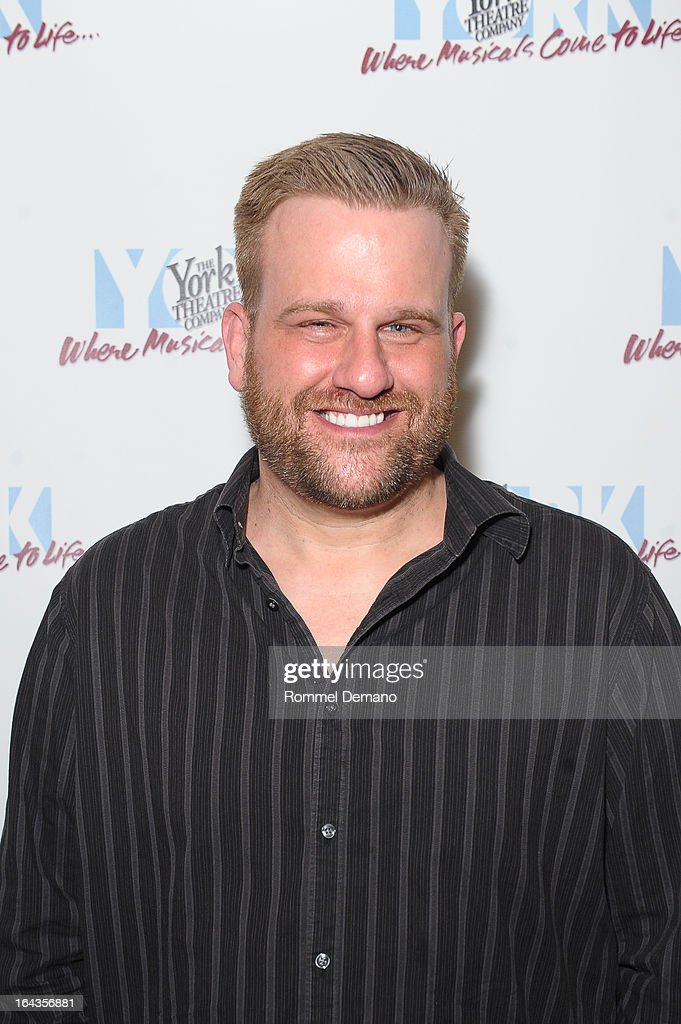 Stephen Wallem attends the off-Broadway opening night of 'Silk Stockings' at The York Theatre at Saint Peter's on March 22, 2013 in New York City.