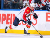 Stephen Weiss of the Florida Panthers skates against the Buffalo Sabres at HSBC Arena on December 23 2010 in Buffalo New York