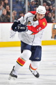 Stephen Weiss of the Florida Panthers skates against the Columbus Blue Jackets on March 29 2011 at Nationwide Arena in Columbus Ohio