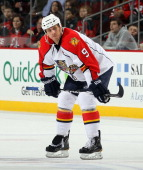 Stephen Weiss of the Florida Panthers skates against the New Jersey Devils at the Prudential Center on February 4 2011 in Newark New Jersey Florida...