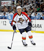 Stephen Weiss of the Florida Panthers skates against the Pittsburgh Penguins at Consol Energy Center on March 27 2011 in Pittsburgh Pennsylvania The...
