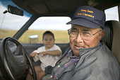 Stephen Weyiouanna and his grandson on Shishmaref A proud Inuit village elder Stephen has lived on Shishmaref all his life Recently the community...