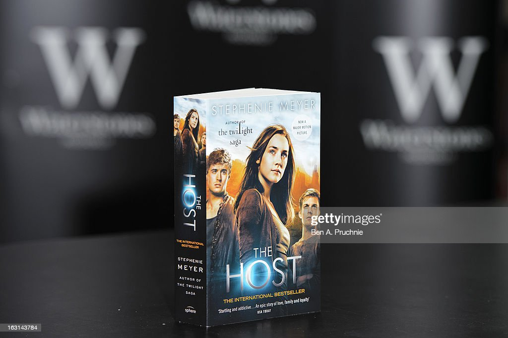 Stephenie Meyer meets fans and signs copies of her book at Waterstones Piccadilly on March 5, 2013 in London, England.