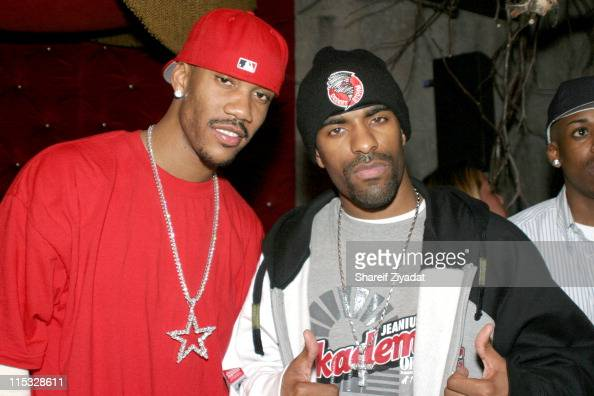 Stephon Marbury and Dj Clue...